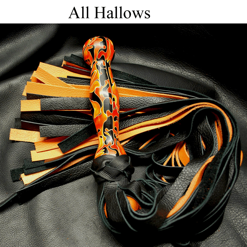 Acrylic Handle Flogger
