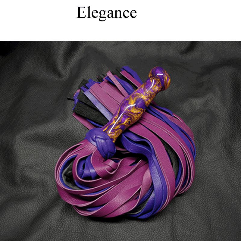 Acrylic Handle Flogger
